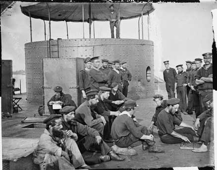 Crew of the USS Monitor